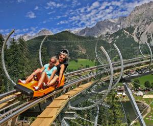 The Rittisberg Coaster summer toboggan run