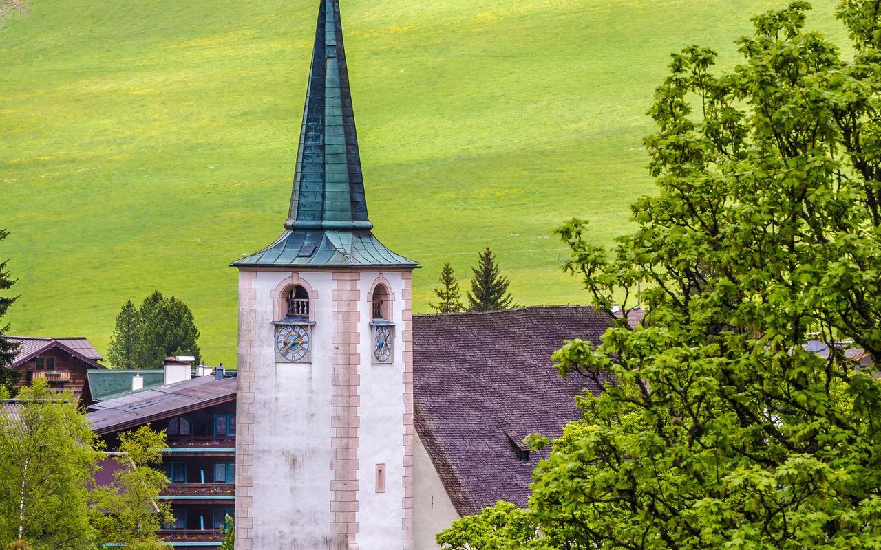 Pilgrimage church Filzmoos Winter