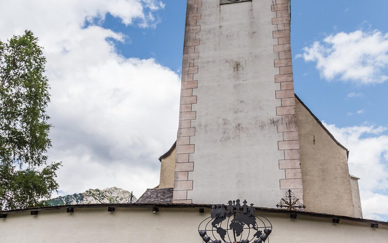 Church forecourt