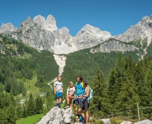 Beautiful hiking area Hofalmen Filzmoos