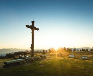 Summit cross at the Radstaetter Huette