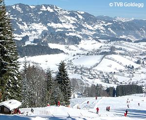 Skilift Goldegg Abfahrt