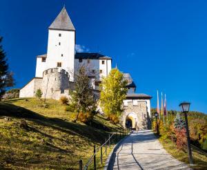 Das Museum ist in der Burg Mauterndorf untergebracht