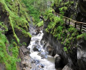 roaring water in the Kitzlochklamm