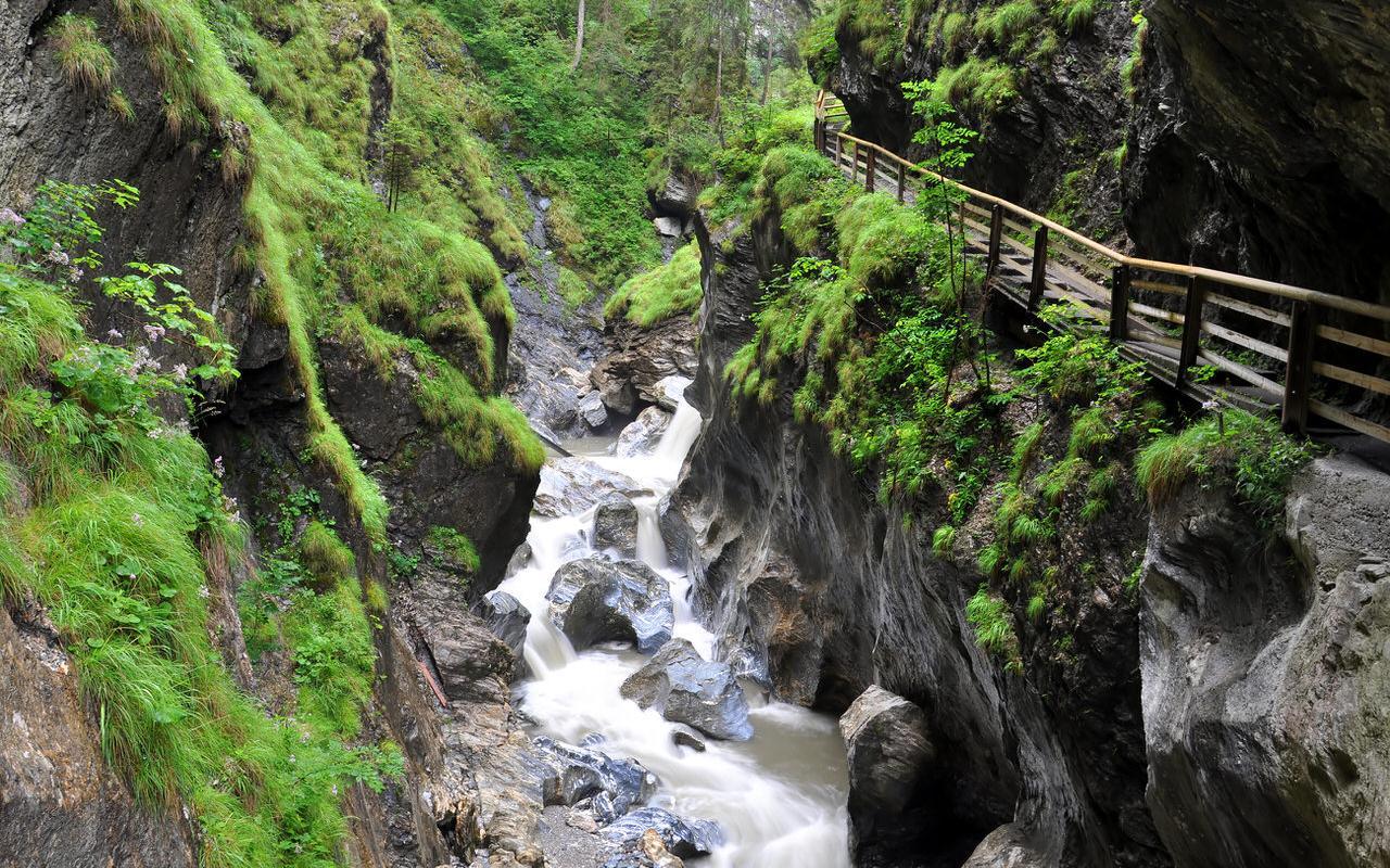Toaring water in the Kitzlochklamm