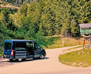 Shuttlebus auf die Bachlalm