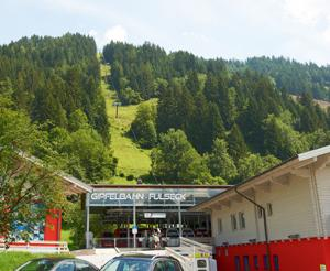 Entrance to the Gipfelbahn Fulseck in summer