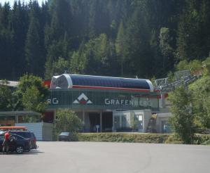 Gondolas of the Grafenbergbahn