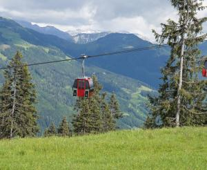 Cable cars of the Grafenbergbahn Wagrain