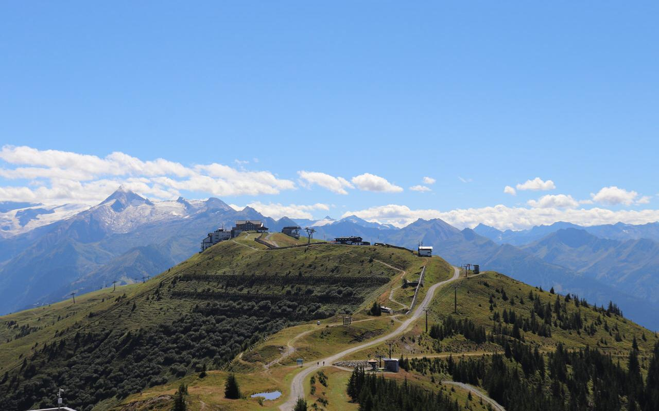 Hiking paradise Schmittenhoehe in summer