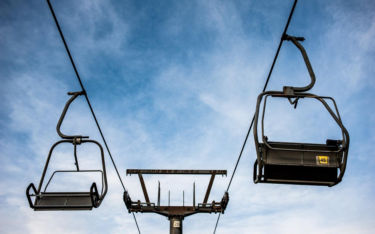 Chairlift symbol photo
