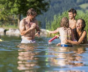 Flachauwinkl bathing lake