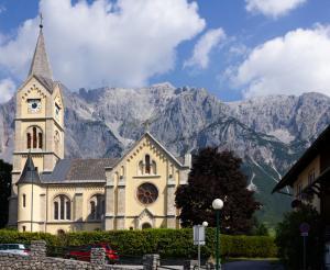 Die evangelische Kirche in Ramsau am Dachstein