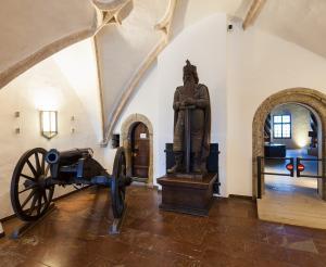 Ausstellungsraum im Festungsmuseum Hohensalzburg
