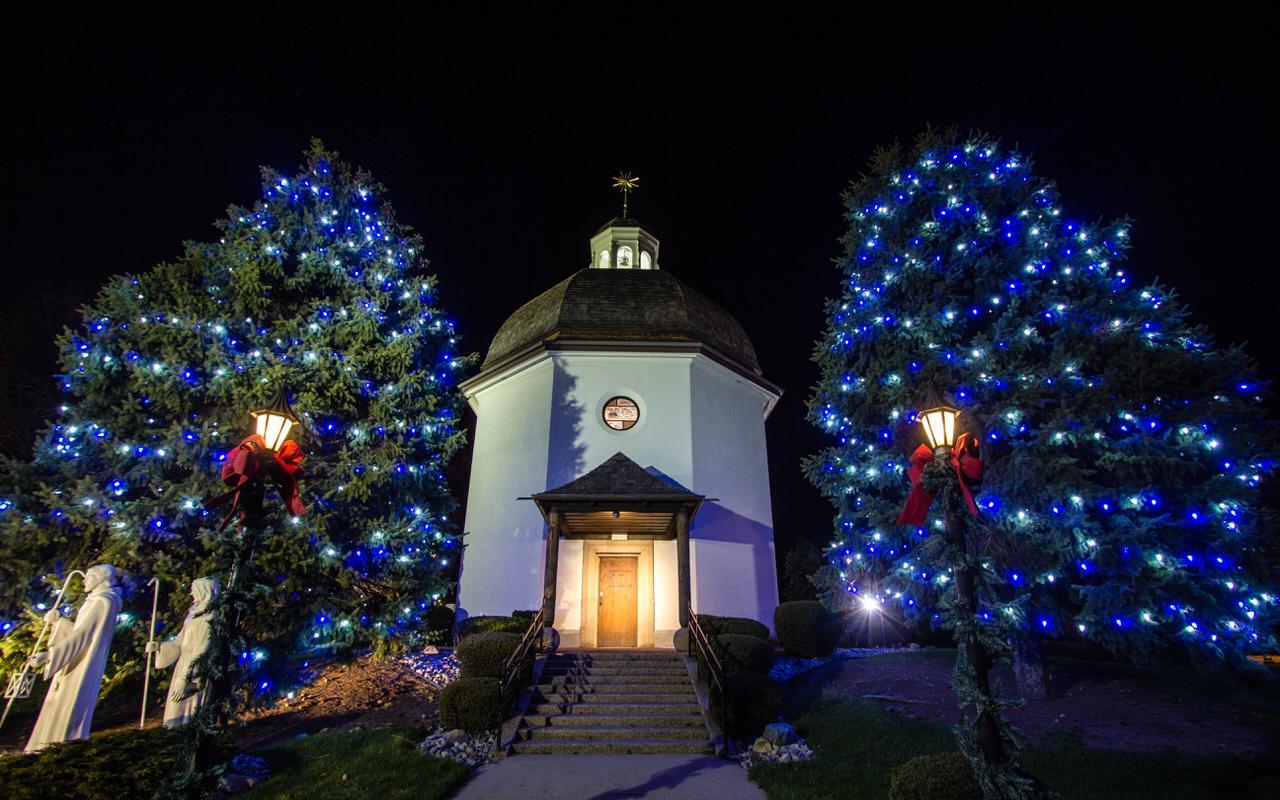 Silent Night Chapel Oberndorf near Salzburg