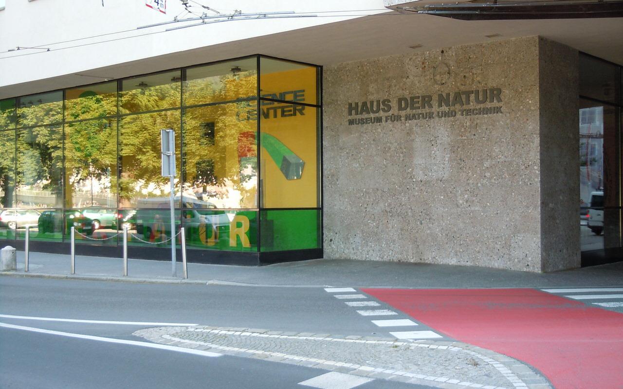 Eingangsbereich Haus der Natur