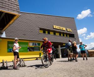 Bikepark Schladming Startpunkt der Touren