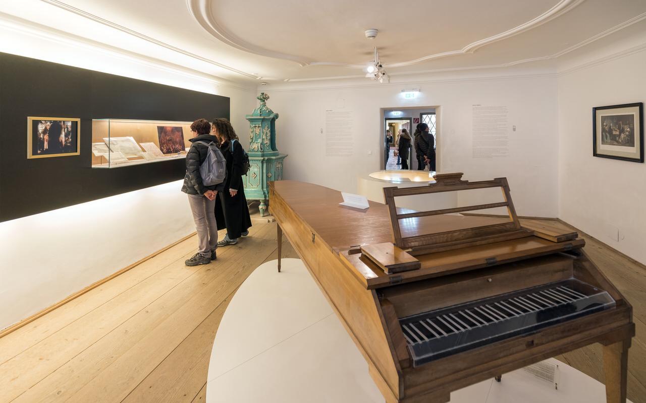 Im Inneren des Geburtshauses von Mozart