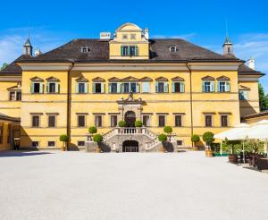 Hellbrunn Palace buildings and gardens
