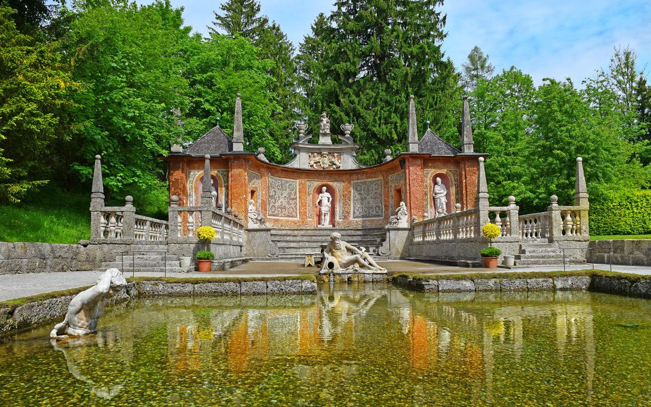 Hellbrunn Palace Fountains