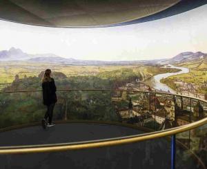 Salzburg Museum Gebaeude Frontansicht