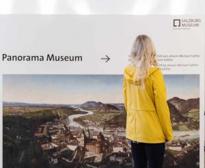 Salzburg Museum View from the Alter Markt