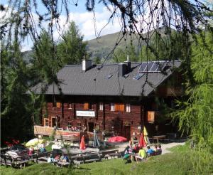 Filzmoosalm Großarl summer hut view outside
