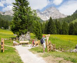 Place of gratitude at Almsee