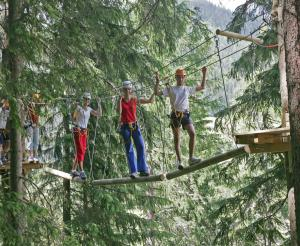 Course in the Rittisberg high ropes course