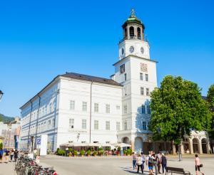 Neue Residenz und Glockenspiel