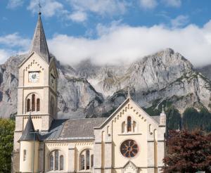 Evangelische Kirche in Ramsau am Dachstein