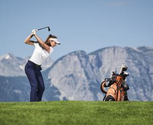 The first organic golf course in Ramsau am Dachstein
